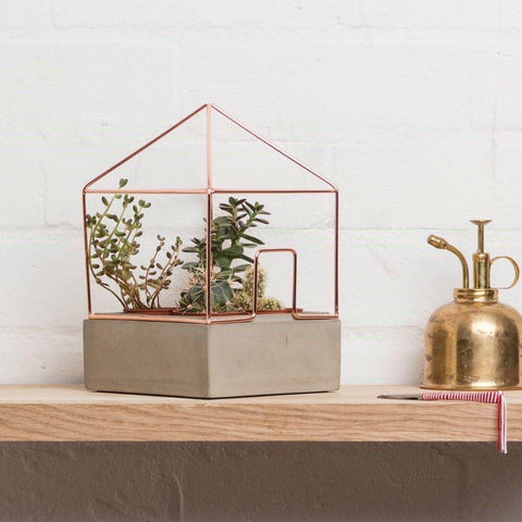 Copper Plant House - Gifts for Her
