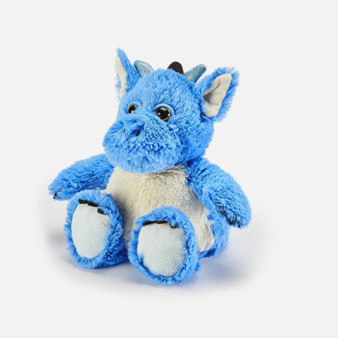 Warmies Heatable Soft Toy - Blue Dragon