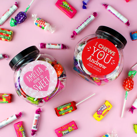 Personalised Sweet Jars