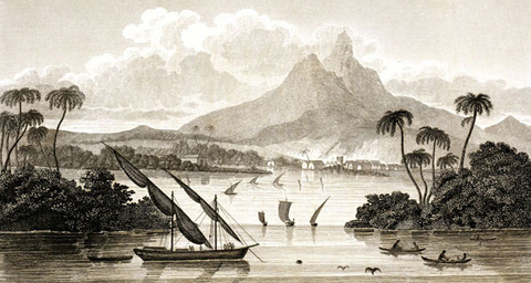 "The ""port of Black River in the Territory of Poyais"""