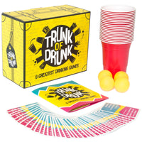 Trunk of Drunk - 8 Drinking Games