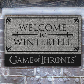 Game Of Thrones Welcome to Winterfell Doormat