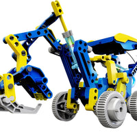 12 in 1 Solar Hydraulic Robot