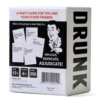 Drunk Stoned or Stupid Card Game