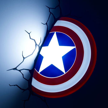Marvel Captain America Shield 3D FX Light