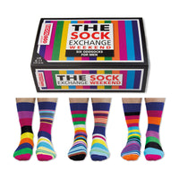 United Oddsocks The Sock Exchange Weekend Mens Gift Box