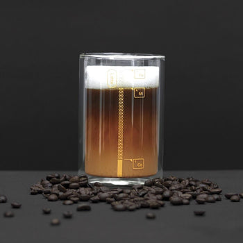 Luckies Coffee Lab Measuring Glass