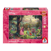 Thomas Kinkade Disney Jigsaw Puzzle 1000 pc Sleeping Beauty