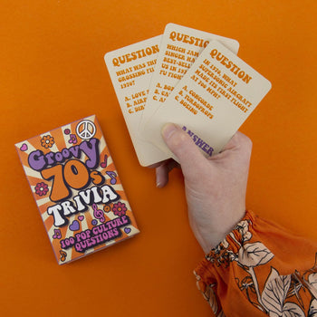Groovy 70's Trivia Card Game