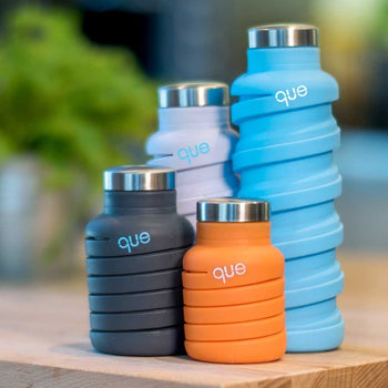 Que Collapsible Water Bottle 600ml