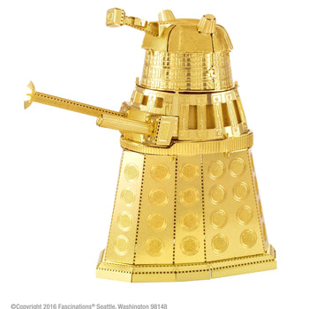 Doctor Who Metal Earth Gold Dalek