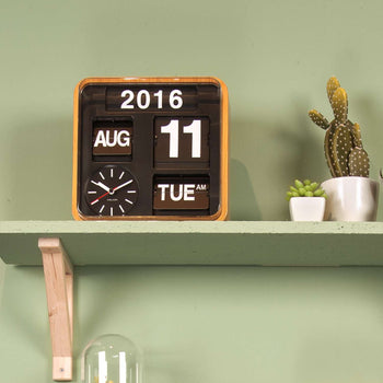 Karlsson Big Flip Wall Clock