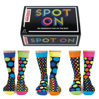 United Oddsocks Spot On Mens Gift Box
