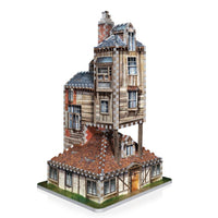 Wrebbit Harry Potter The Burrow 3D Puzzle