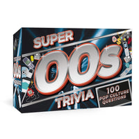 Super 00's Trivia Card Game