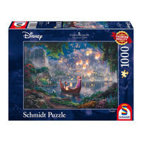 Thomas Kinkade Disney Jigsaw Puzzle 1000 pc Tangled