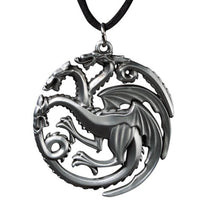 Game Of Thrones House Targaryen Sigil Pendant