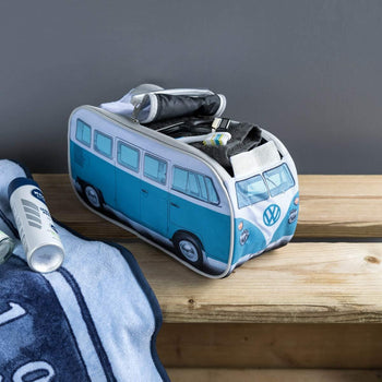 One VW Toiletry Wash Bag - Dove Blue