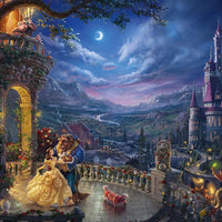Thomas Kinkade Disney Jigsaw Puzzle 1000 pc Beauty & The Beast