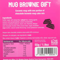 BakedIn Chocolate Brownie Mix & Mug Gift Set