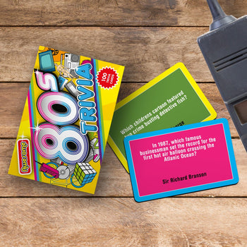 Awesome 80's Trivia Card Game