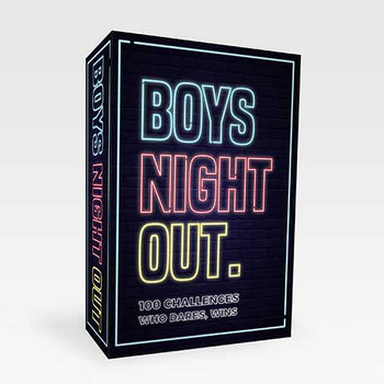 Boys Night Out Challenge Cards