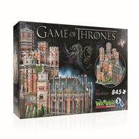 Game of Thrones 3D Puzzle Red Keep