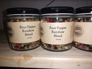 Salt Traders four pepper rainbow blend (whole pepper)