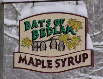 Maple Syrup, Bats of Bedlam 16oz.