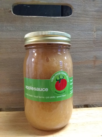 Applesauce & Strawberry Applesauce local 16z & 24oz.