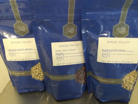 Beans, Dried : SALE!  Black Eyed Peas, French Navy, or Kidney. 1# bag