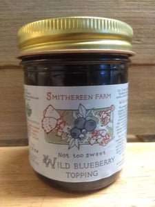 Wild Blueberry Topping - Smithereen Farm NEW!