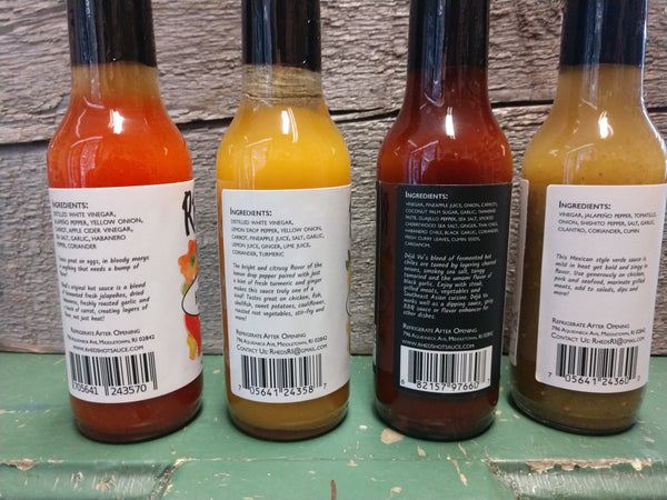 Hot Sauce: Rheds 4 flavors NEW!