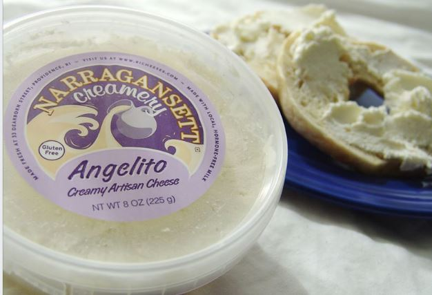 Cheese, Angelito Cream Cheese 8oz.  Narragansett Creamery