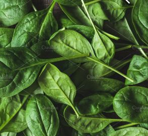 Spinach, winter organic 1/2# bag