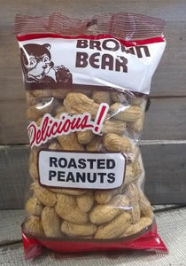 Nuts, Roasted: Peanuts in shell - bagged