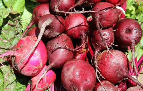 Beets, Red with tops, price per bunch