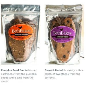 Crackers, GLUTEN FREE Beth Bakes NEW FLAVORS!