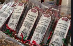 Charcuterie: bourbon & bacon salame NEW!