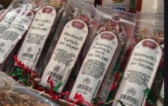 Charcuterie: Pepperoni, Bourbon Bacon Salame, & Hot Soppressatta