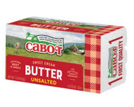 Butter, Cabot unsalted 1#