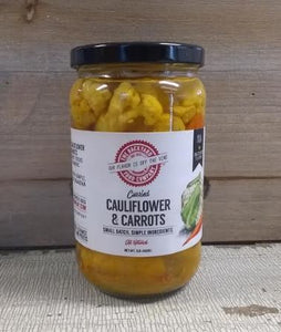 Cauliflower & Carrots, Curried- 16oz.