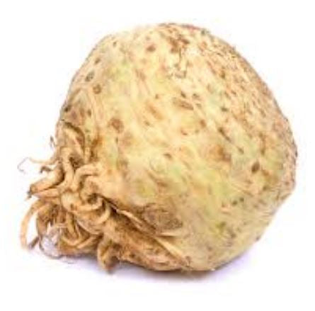 Celeriac (celery root) local. Each or 1-1.5#