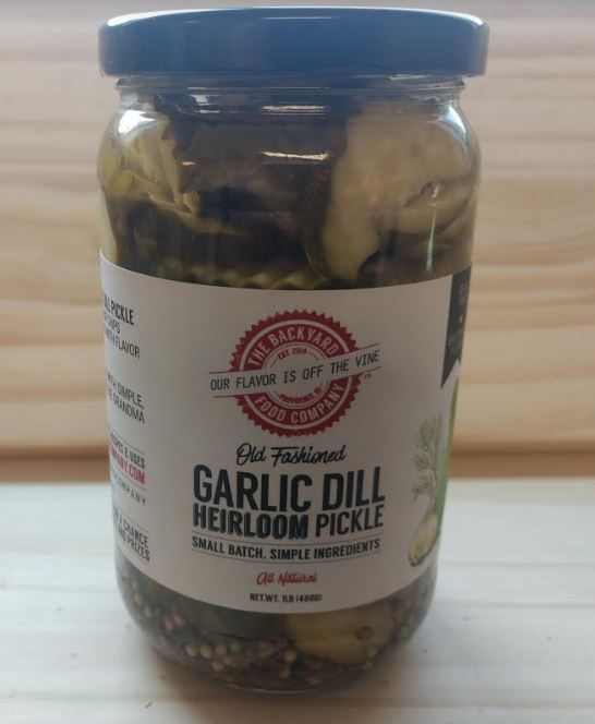 Pickles, garlic dill crinkle cut - 16oz.