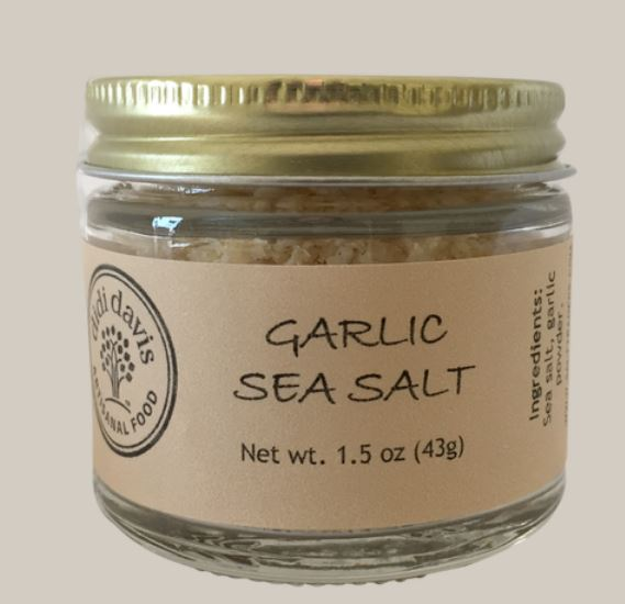 Garlic Sea Salt: Salt Traders BACK IN STOCK