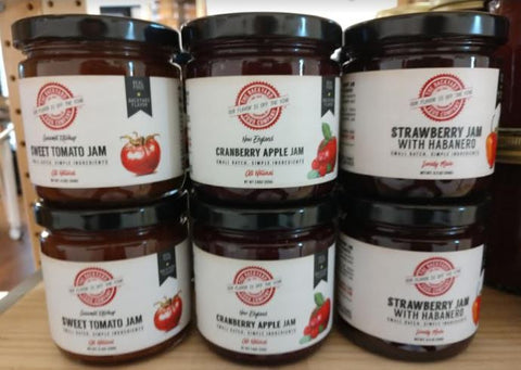 Jams, Backyard Food Co - multiple flavors NEW!