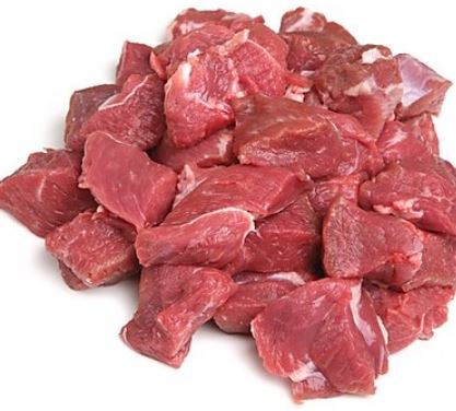 Lamb Stew Meat various sizes