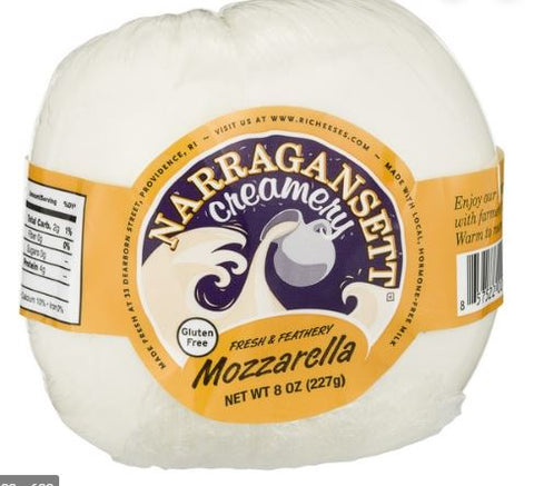 Cheese, Mozzarella, 8oz. Narragansett Creamery