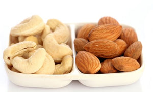 Nuts, Roasted: Almonds & Cashews 6oz.