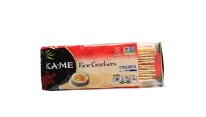 Crackers, thin rice, 3.5 oz oz box.